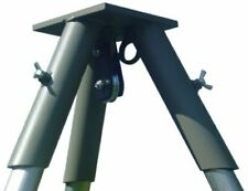 Tripod Header w/ Double Pulley Hanging System for Weight Distribution - Green