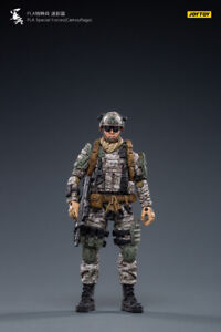 1/18 FIGURE - JOY TOY -PLA Special Forces(Camouflage) (6973130371200) Free ship