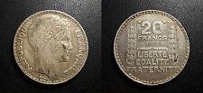 IIIème République - 20 francs Turin Rameaux longs - F.400/3