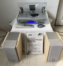 JVC Kompakt-Komponenten-System Kompaktanlage FS-SE550R 2 Boxen