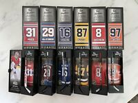 2020 TIM HORTONS NHL STICKS, LOCKERS COMPLETE SET of 6 Mcdavid Crosby Price