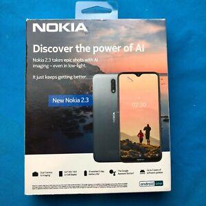 ✔Ships Same Day🔥  Nokia 2.3 TA-1214 32GB 4G LTE Factory GSM Unlocked Smartphone