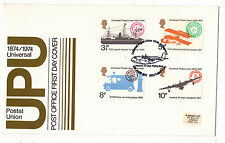 .. 1974 union postale universelle avec imp.airways spécial. handstamp.fdc
