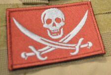 Afsoc Kampf Control Tacp Klette Rot Aufnäher: Piraten Calico Jack Einäuglein