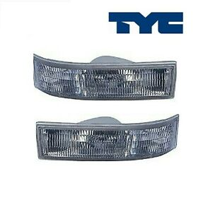 2PCS TYC Turn Signal / Parking Light Assembly Fit Chevrolet Astro/ GMC Safari