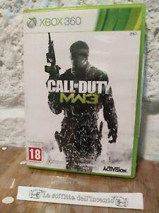 Gioco Call of Duty MW3 Modern Warfare 3 Xbox 360 Microsoft Pal ITA