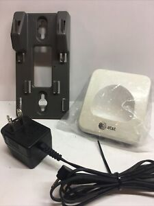 AT&T Wall Mount And Charger Base For Model EL 52333 Clean