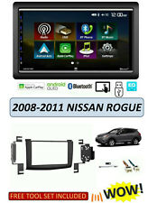 Fits 2008-2011 NISSAN ROGUE Stereo Kit, Apple CarPlay Android Auto TOUCHSCREEN