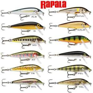 RAPALA COUNTDOWN LURE - PIKE PERCH SALMON BASS FISHING LURE