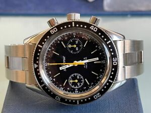 SKIN DIVER CHRONOGRAPH VALJOUX 7733 CARICA MANUALE VERY RARE 38,5 mm