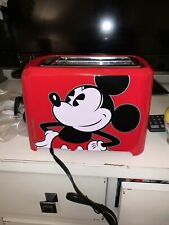New listing Disney Mickey Mouse 2 Slice Toaster Imprint Fun Character Designs Waffle Maker