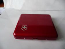 Victorinox red box Classic knife Fisher Space pen EMPTY case used rare