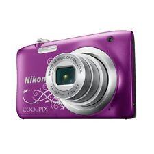 Nikon Coolpix Digital Camera Purple Pattern A100