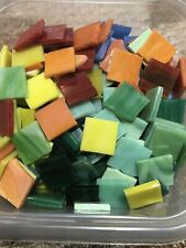 Mosaic Mercantile Authentic Glass Mosaic Tiles, 3/4 Inch, Assorted Colors, 3