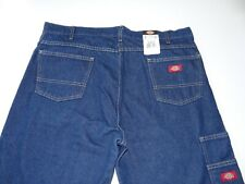 New Dickies Relaxed Fit 40x32 Mens Denim Jeans 100% Cotton Work Pants NWT