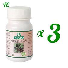 GINKGO BILOBA 700 mg. 300 Comprimidos - SOTYA - Circulacion Memoria