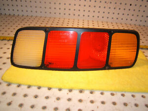 Porsche Early 928 928S Rear RIGHT Pass US Taillight Genuine OEM 1 Lens only