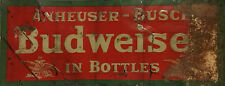 """TIN SIGN """"Bud B Rust"""" Beer Mancave Wall Decor Alcohol IPA Vintage Kitchen Gift"""