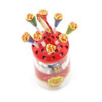1:12 Dollhouse Miniature Simulation Food Mini LolliWith Case Holder New SEME