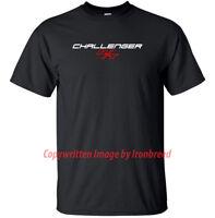 Dodge Challenger RT Lettering LOGO Demon Muscle Car T-Shirt