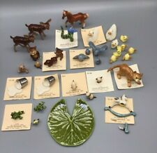 HAGEN RENAKER - Great Mixed Lot of Miniature Figurines - See All Pics -