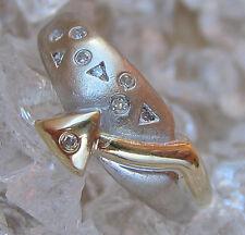 ✨0,10 ct. Diamonds✨ Brillant Ring in aus 585 Gold 3,9 gr. mit Diamant Brillanten