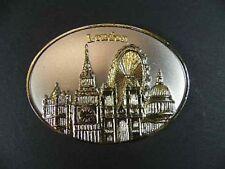 Londra metallo magnetico MEDAGLIA Tower Bridge, eye, Big Ben, 7 CM, Inghilterra souvenir, NUOVO