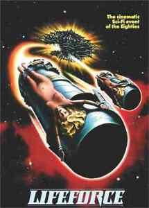 Lifeforce - Horror Sci Fi - Steve Railsback, Mathilda May, Peter Firth - DVD