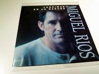 """MIGUEL RIOS """"LAGRIMAS EN LA BASURA"""" CD SINGLE 2 TRACKS"""
