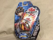 Series 1 Bakugan Battle Brawlers Dragonoid Collector Figure and Metal Card 2007