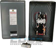 SQUARE D MAGNETIC STARTER 8911DPSG52V09 8911DPSO52V09 10HP 1 PHASE 230VAC  50AMP
