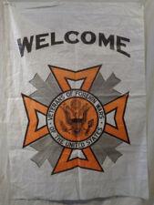 Vintage Veterans of Foreign Wars Banner Flag Lot 219