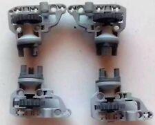 Lego 8110 / 42030 / 9398 Technik 4 x Radaufhängung mit Zahnrad