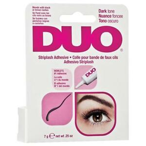 Duo Pink Strip Eyelash Dark Drying Firm Hold Long Lasting Adhesive Glue 7g