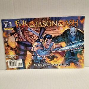 Freddy vs Jason vs Ash 1 of 6 Wildstorm 2nd Printing Cover January 2008