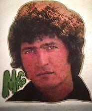 RARE 1970's Morris MAC Davis country TX western Music vTg Orig t-shirt iron-on