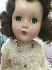 Vintage R & B Arranbee Nancy Lee Bride Doll with Sleep Eyes 15 Inch Doll