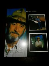 DON WILLIAMS - TRACES/NEW MOVES  CD