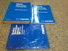 2005 Mazda Miata MX-5 Service Repair Workshop Shop Manual Factory Set W EWD +