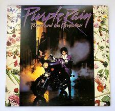 Prince And The Revolution Purple Rain Pop Rock Wanwer Bros 1984 1-25110 Nmint