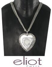 Statement 5  Kette Paris Designer Halskette  Anhänger Collier  Herz