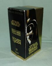 VHS Star Wars Trilogy - Special Edition 1997 - Gold Box Set