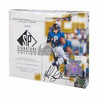 1999 Upper Deck SP Signature Edition Football Hobby Box