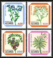 Portugal Azores 329-332, MNH. Local Flora, 1982