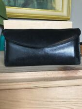 Nordstrom Women's Black Bifold Wallet  Genuine Leather Gloved Organizer Turkey