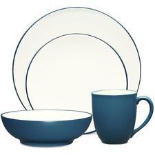 Noritake Colorwave Blue Coupe 48Pc Dinnerware Set, Service for 12