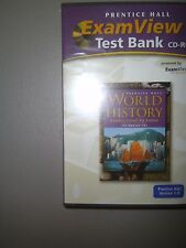 World History: Connections to Today Modern Era: ExamView Test Bank CD-ROM  9249