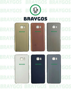 Rear Back Battery Cover Glass For Samsung Galaxy Note 5 N920 With Adhesive