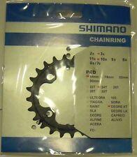 XT - Corona/Chain ring originale Shimano 24T 4fori x 64mm FC-M770/M771 10s/v-NEW
