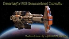 Lego Dmarkng's Hammerhead Corvette Instructions